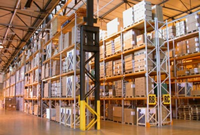 Pallet Racking for warehouse pallet storage